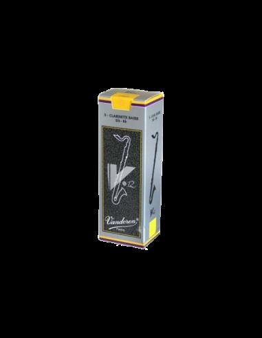 Caja Cañas Clarinete Bajo 4 Vandoren V12