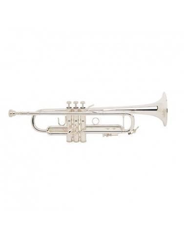 Trompeta B&S BS-3137/2LR-S Plateada