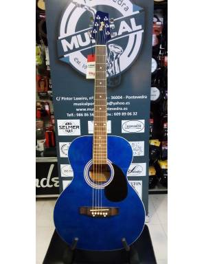Guitarra Acústica Stagg SA20A Blue
